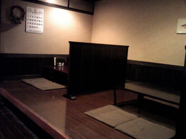 和一里 - 座敷です・平成24年5月