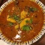 Indoandobanguradeshuryourishonaruga - シャルシェ・メバル(メバルのマスタード煮):苦っ辛くダシがしみしみ 冷めてもおいしい