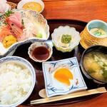 魯はん - 刺身定食1780円