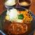 鉄板食堂はち - 料理写真:カレーソース、目玉焼きトッピング