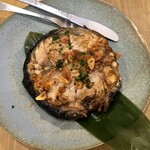 日本酒バル&カフェ 坂ノ下ノオリゼ - マグロテールステーキ醤油バター焼き