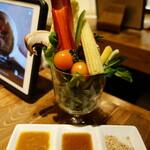 やさいの王様 - 約30種類から選べるサラダコーナー