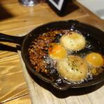 やさいの王様 - 熊本県直送トマトと長谷川農産マッシュルームのアヒージョ