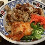 肉まる商店 - 料理写真:カルビ丼٩(ˊᗜ、ˋ*)و