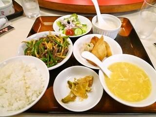 姑娘飯店 - ランチセット ¥800