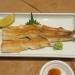 三漁洞 - 焼き穴子 1200円(税別)