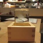 三漁洞 - 一ノ蔵 升一杯 600円(税別)