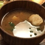 新屋食堂アヤナイ - 味噌が美味しい