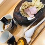 らぁ麺 飯田商店 - つけ麺(しょうゆ)(o^^o)