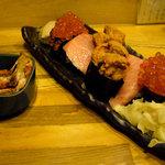 網代一菜 - 寿司(松) 2000円