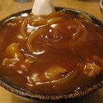 良味食堂 - カレー蕎麦