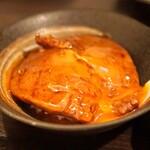 """SATOブリアン - 特選フィレミニョン を """"つまんでご卵"""" で"""