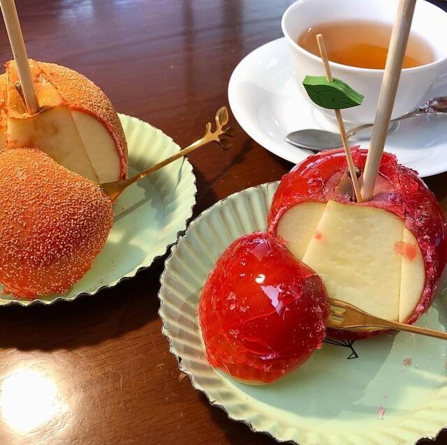 東京 りんご 飴