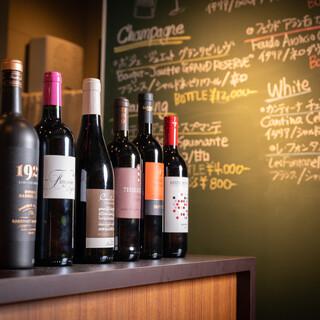 ソムリエセレクトのワインや道産米で作る小林酒造の地酒に舌鼓…