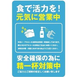 【新型コロナウイルスの感染予防、拡散防止の対策について】