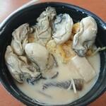 くいどうらく - 大きい牡蠣が6粒」