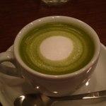 カフェ ブラン - 抹茶・ラテ(\500)