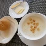 12811766 - カリフラワーのスープ