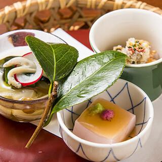 心が満たされる和食と一つ一つ丁寧に施された心地よいおもてなし