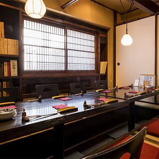 日本の侘び寂びを感じられる趣きのある空間で、和の美しさを満喫