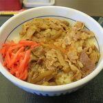 なか卯 - 料理写真:和風牛丼並(380円)