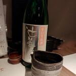 和菜酒房 おりべ - 辻善兵衛 純米吟醸 辛口生原酒 890円 辛さもある旨口。