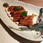 和菜酒房 おりべ - 煮穴子の炙り 950円
