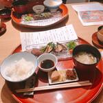 日本料理 つるま - イチボ炭火焼きとかまど炊きごはん