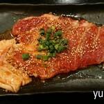 ホルモン慶彦 - 豚ロース(大きな一枚肉)