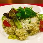 BISTRO MIMI - ホタテと旬野菜のサラダ