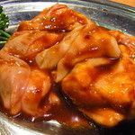 ホルモン焼肉 ぶち - ギアラ(赤セン)