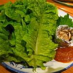 ホルモン焼肉 ぶち - サンチュ