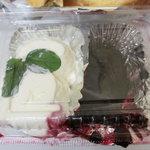 ミモザ - ホイップクリームとブルーベリージャム