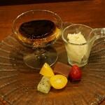 達磨亭 - ランチおまかせ デザート2