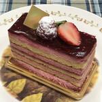 128136524 - フランボワーズの酸味と甘みを味わえるフランボワジェ!!