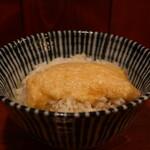 牛たん 藤次郎 - とろろオンザ麦飯