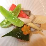 12814185 - 前菜 野菜の炊き合わせ 【 2012年5月 】