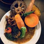 スープ・カレー・イシバ - ベジタブルスープカレー