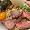 はまんど横須賀 - 料理写真:釜玉油そば アップ