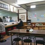 ra-mensemmontsuruya - 店内