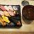 権太呂すし - 料理写真:緑香(ろっこう)セット:940円