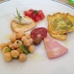 12815537 - Luna piena・ランチ前菜の盛り合わせ