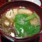みそ茶屋 千の水 - 味噌汁~☆