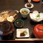 丹南茶寮 - 焼き魚(ブリカマ)定食 1,100円