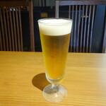 鎌倉和食 楠の木 - 生ビール