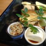 鎌倉和食 楠の木 - 焼き物八寸