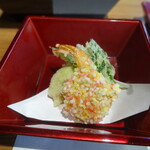 鎌倉和食 楠の木 - 揚物二種盛り