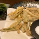 和食家 駿 - 何か野菜の天ぷらでした