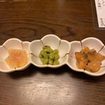 和食家 駿 - お通し