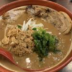 蔵deらーめん - 伊勢味噌炙りチャーシュー麺